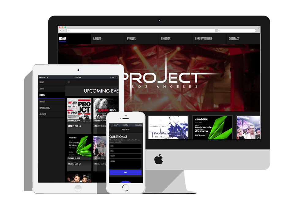 Project LA Website