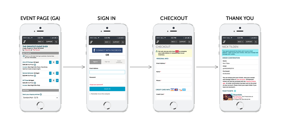 Flavorus Mobile Purchase Flow Final